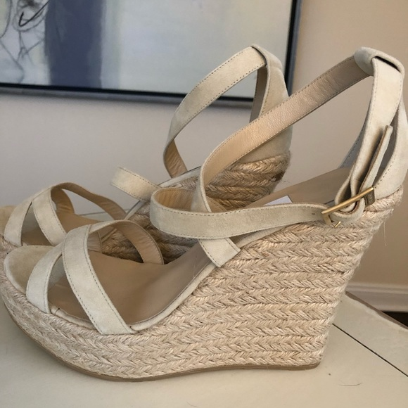 1f44f178fa7 Jimmy Choo Shoes - New Jimmy Choo Espadrille Wedges 41